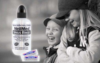 Štúdie ukazujú, že Sinus Rinse pomáha s astmatickými symptómami